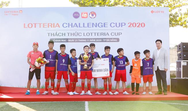 Thách thức Lotteria Cup 2020 tại Đà Nẵng Đội FC Dược Phẩm Minh Dân là đội cuối cùng lọt vào vòng chung kết